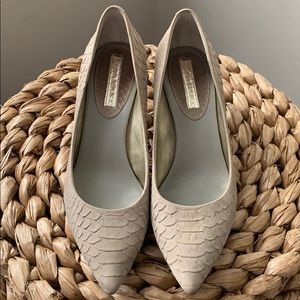 Banana Republic Taupe Heels